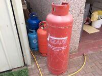 Calor gas cylinder 47 kg empty