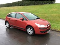 2007 CITROEN C4 SX * ONLY .2. OWNERS FROM NEW * * M.O.T TO APRIL 2017 *