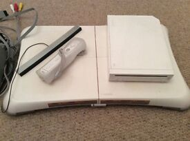WII Console and Board