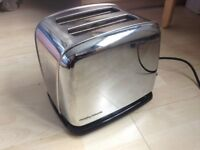 Metal 2-slice toaster