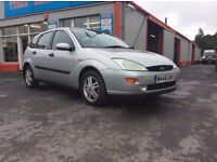 Ford Focus 1.8 Ghia. 5 Door. Immaculate throughout, loads of receipts. Very well maintained.