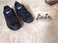 Nike Size 8 Mountain Bike Shoes