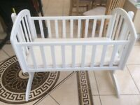 Obaby Wooden swinging crib