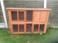 Rabbit hut two storeys good condition