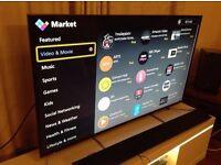 PANASONIC 55-inch Smart 4K ULTRA HDR LED TV-TX-55DX600B,built in Wifi,Freeview HD,Netflix,