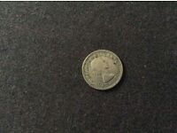 1 Sixpence Coin