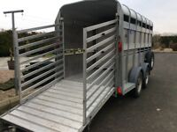 2003 IFor Williams Cattle Trailer