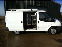 Ford Transit 2007 – Previously owned by BT, Very Low Miles, Twin Side Doors 3tonne weight carrier