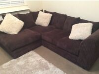 **Like New - Brown Corner Suite - Bargain**