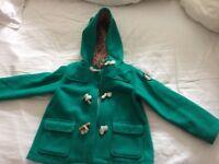 Petit Bateau girls coat