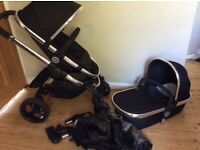 ICandy peach 3 Black Magic pushchair excellent condition
