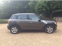 Excellent Condition Mini Countryman Grey Diesel Automatic