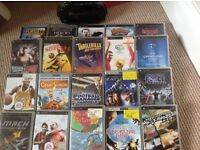 REDUCED IN PRICE - PSP with case, charger & 20 games & postage cost