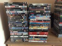 Large Collection Of DVD's 50 Pence Each