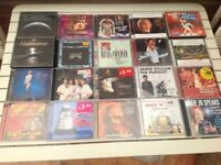 Box Of Assorted CDs and 15 JAZZ CDs