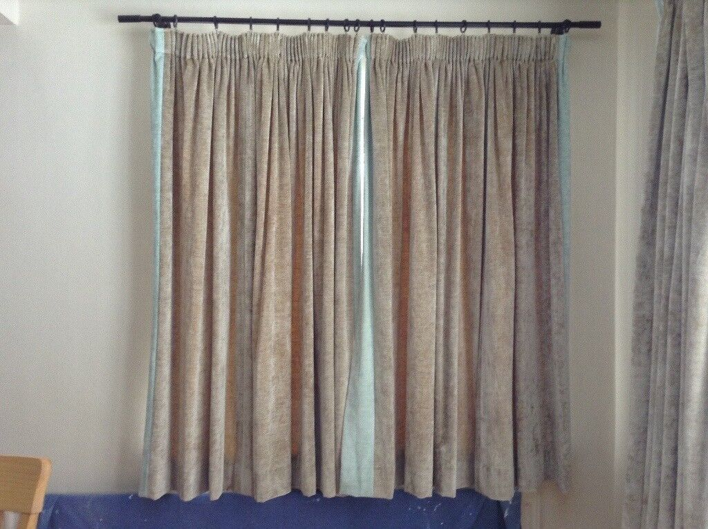 fittings very uk the laura in curtains same second fully blinds size two fabric made are ashley condition buy lined curtain pairs hand of all furniture and excellent classifieds well