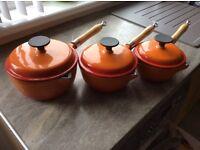 Brand new cast iron pans