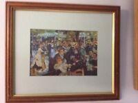Framed Print Bal du Moulin de la Galette -Renoir