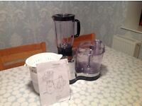 Kenwood Food Processor with liquidiser and full instructions now only £20!!!