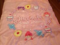 Girls Sleeping Bag Sweet Dreams in Excellent Condition