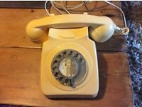 Working retro dial telephone - OFFERS INVITED