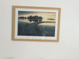 A lovely frame print of lake Accepting Offers