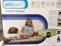 Aero bed raised comfort mattress.