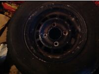 """MINI 10"""" Alloys ! Set of 4 . Originally from a 25th aniversary car . £100 for quick sale !"""