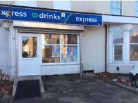 Off licence shop