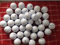 40.srixon soft feel golfballs