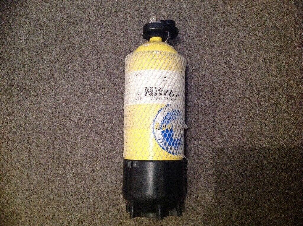 10 litre 232 bar diving cylinder / tank