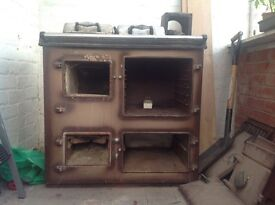 Old Rayburn solid fuel cooker for garden?