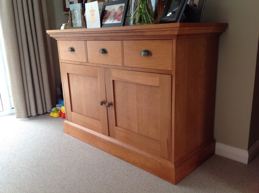 MS sideboardin Rhiwbina, CardiffGumtree - M & S 3 drawer sideboard in mahogany, good condition. Buyer to collect £50 or near offer