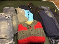 Bundle of boys clothes suitable for age 9-11. Good condition