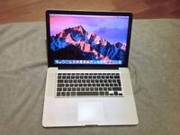 Macbook Pro 2012 i7 16gb 256gb SSD plus more