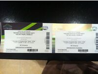 2 x Kiss FM Haunted House Tickets.