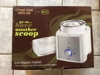 Brand new ice cream maker