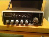YORK CB RADIO AND SWR METER
