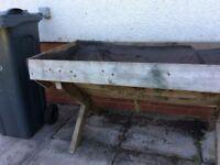 Wooden Garden Herb Box