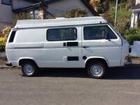 VW Campervan T25 1991 Diesel 1900cc Long M.O.T. Until April 2019