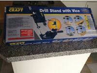 Drill stand with vice