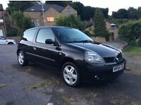 Renault Clio extreme 3 1.2 petrol manual 53,000 miles FSH 12 months MOT extremely good condition