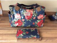 Cath Kidston Day Bag with matching purse