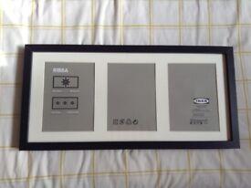 Ikea Ribba frame black 50x23cm