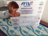 Avent microwave bottle steriliser