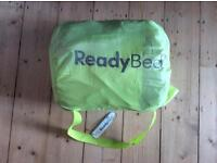 Junior inflatable ready bed