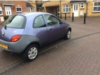 Ford ka 56 reg one lady owner only 55k FSH new mot excellent drive