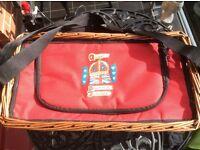 Royal Memorabelia picnic basket from Buckingham Palace in 2012 Jubilee
