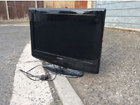 "26"" LCD TV with integrated DVD player"