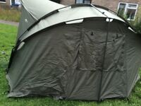 double top globetrotter bivvy in good condition only used once